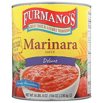 Furmano Sauce Pasta Marinara, Case of 6 X 104 Oz