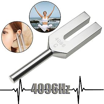 High-frequency Energy Tuning Fork Crystal 4096hz Medical Tuning Fork Aluminum Alloy Healing Sound Vibration Therapy Medical Tool