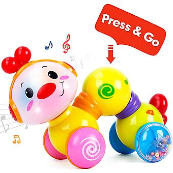 Happy Meandering Worm - Funny Baby Activity Crawling Toy - For Babies From 6 Months