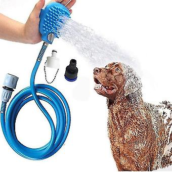 Pet Koupací nástroj Sprchový postřikovač MasážNí pračka Nastavitelná ruční péče