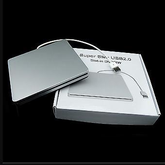 Kannettavan tietokoneen tyyppi Imu Slim Usb 2.0 -paikka ulkoisten taajuusmuissa -kotelokotelossa
