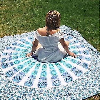 210X150cm portable movable boho india mandala chiffon tapestry wall hanging bed manta beach towel 3 colors