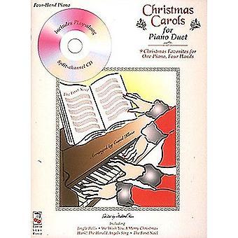 Kolędy na fortepian duet fortepianowy, książka z cd, Hal Leonard