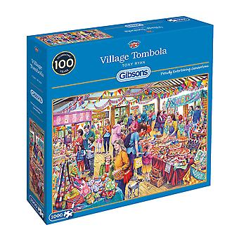 Gibsons Jigsaw Puzzle Village Tombola 1000 pieces