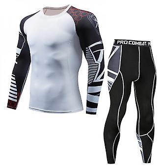 Men's Athletics Fitness Skinny Suit