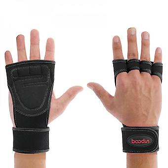 Fitness Palm Protection Anti Slip Wear-resistant Dumbbell Equipment Sports Weight Lifting Bicycle Riding Gloves