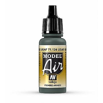 Vallejo Model Air 124 USAF Green - 17ml Acrylic Airbrush Paint