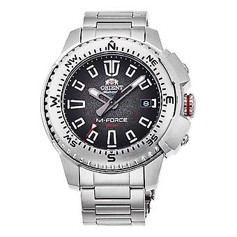 ORIENT Sport M-Force RA-AC0N01B10B - Stainless Steel Male Mechanical 3 hands