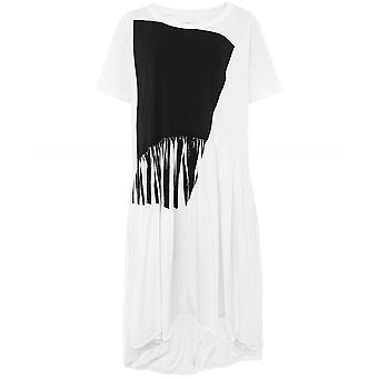 Lurdes Bergada Oversized Print Cotton Dress