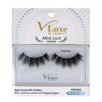False Eyelashes V Luxe Chiffon Silk I-Envy Vles05 Inspired Sheath