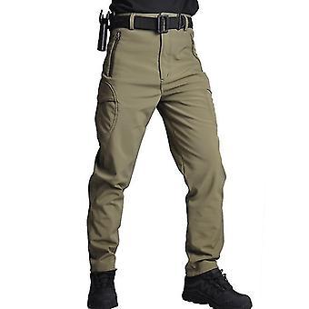 Militaire Broek Tactische Camouflage -mannen Rip-stop Dikke Fleece Combat Broek