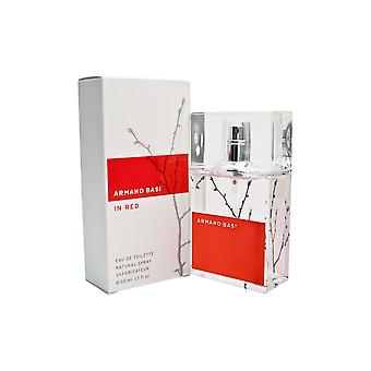 Women's Perfume In Red Armand Basi (50 ml) EDT