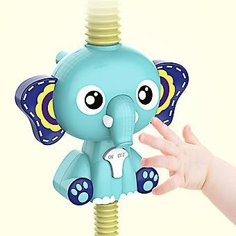 Fürdő játékok Baba víz játék elefánt modell csaptelep zuhany elektromos játékok| Fürdő toy