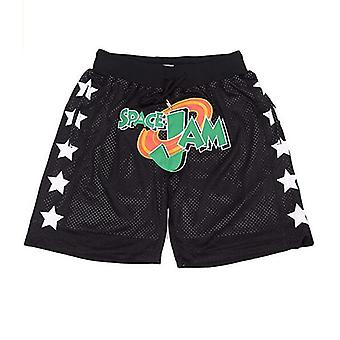 Shorts de basket-ball Space Jam Pour Homme Outdoor Sport Sandbeach Cousus