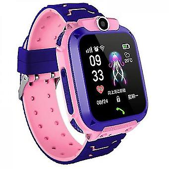 Q12 Children's Smart Waterproof Positioning Phone Watch Two-way Call Touch Screen Camera One-key Call For Help