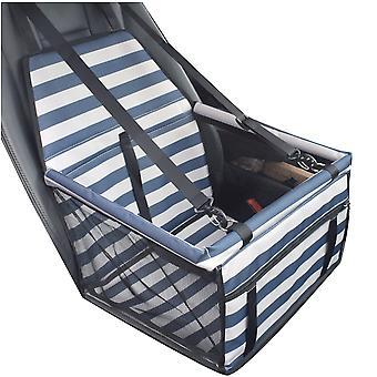 Pet Dog Car Seat Belt Booster Carrier Basket Belt Travel Bag Mat Foldable