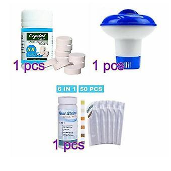 100g Cleaning Tablet Floating Chlorine Hot Tub Chemical Dispenser-1