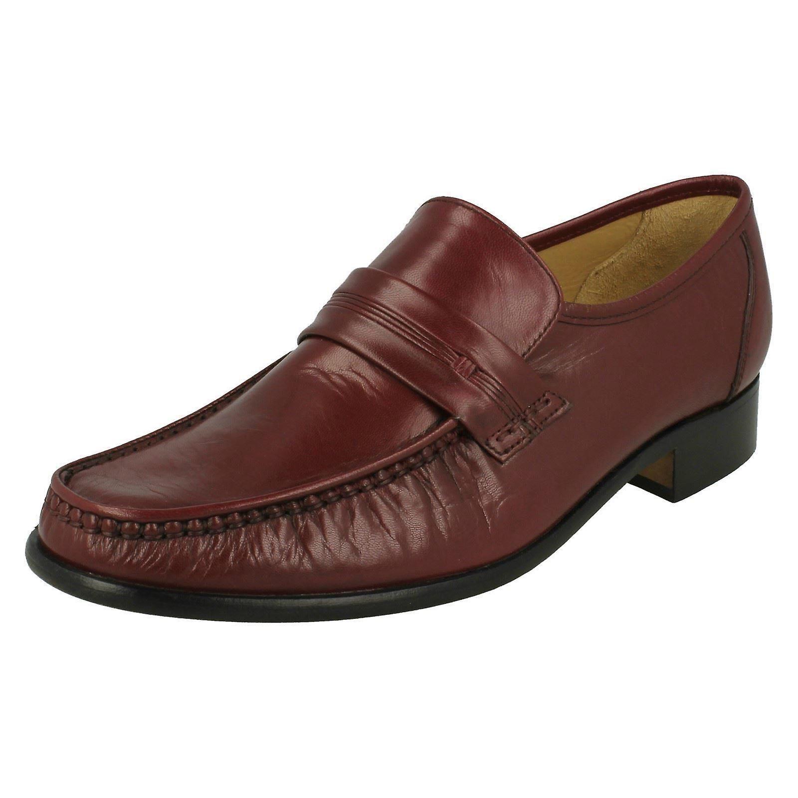 Chaussures de mens Thomas mocassin émoussé formelle Clapham 2