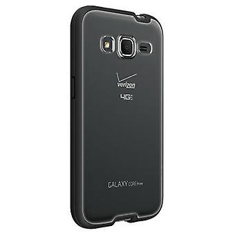 Verizon Shell Case for Samsung Galaxy Core Prime - Clear with Black Edge