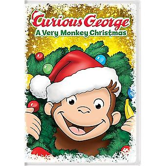 Curious George: A Very Monkey Christmas [DVD] USA import