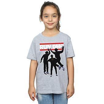 Run DMC meisjes Sihouette sprong T-Shirt