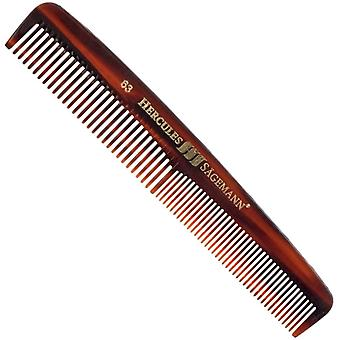 "Hercules Sagemann Sawcut Mens Pocket Comb 6"""