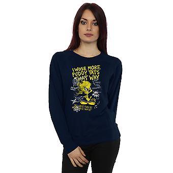 Looney Tunes Women's Tweety Pie More Puddy Tats Sweatshirt