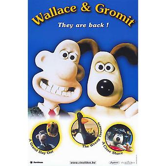 Wallace & Gromit paras Aardman animaatio elokuvajuliste (11 x 17)