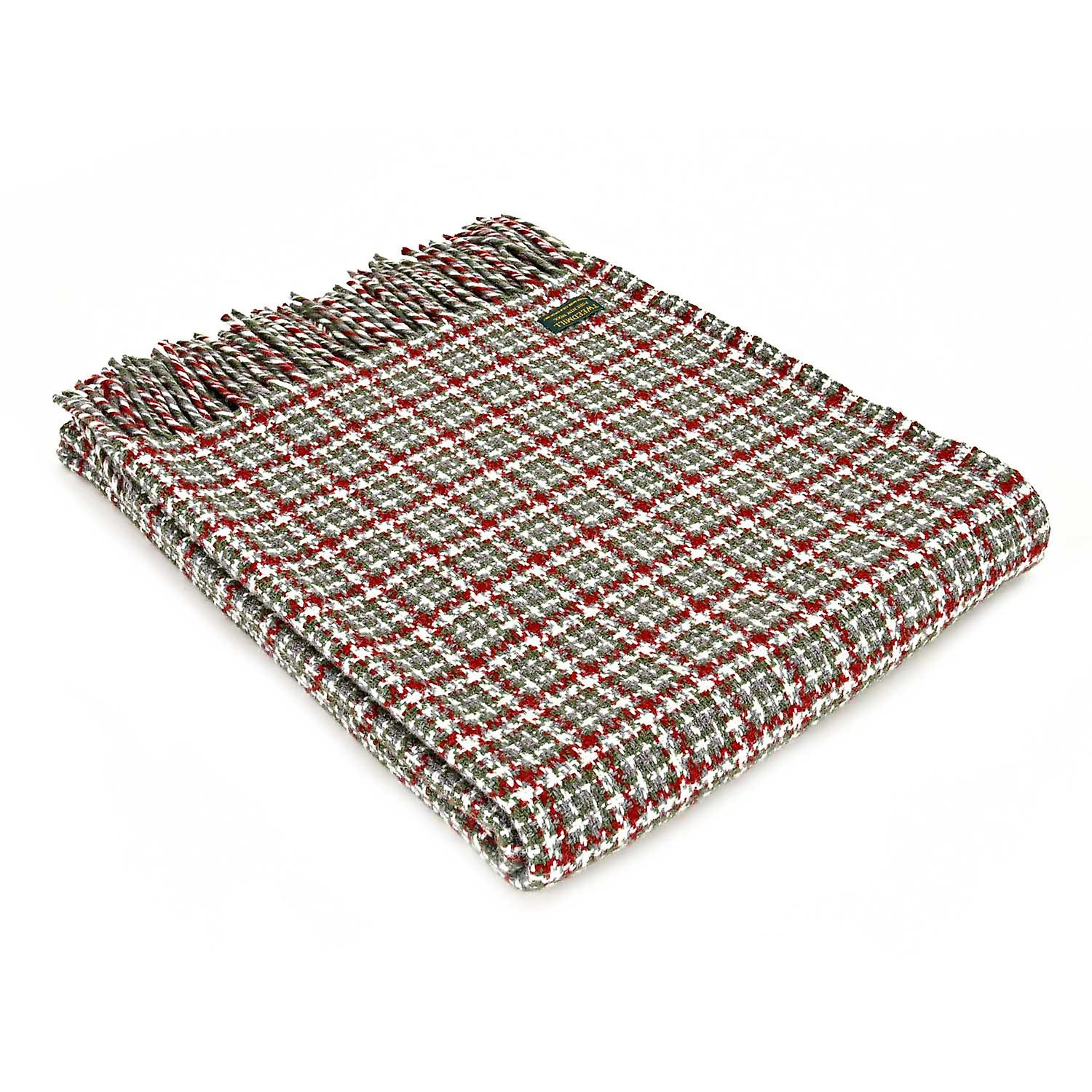 Festival Christmas Pure New Wool Throw / Blanket