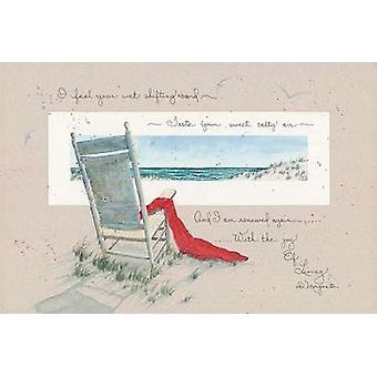 Joy of Living Poster Print by D Morgan (18 x 12)