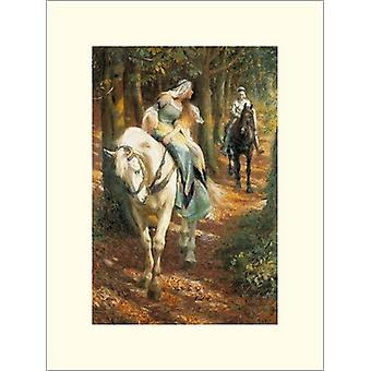 Enid And Geraint Poster Print by Roland Wheelwright (12 x 16)