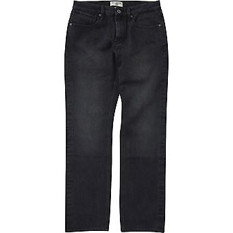 Billabong Fifty Straight Fit Jeans in Salty Vintage Black