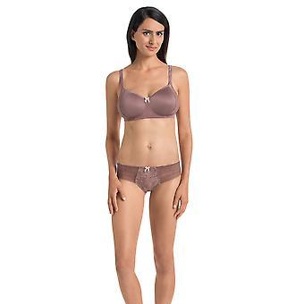 Rosa Faia 1354-769 Women's Fleur Berry Pink Floral Lace Panty Thong
