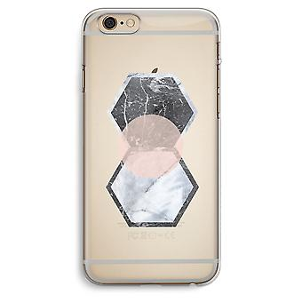 iPhone 6 Plus / 6S Plus transparant Case (Soft) - Creative touch