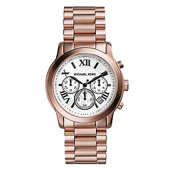 Michael Kors Ladies Designer Watch Rose Gold Cooper MK5929