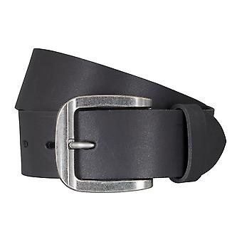 LLOYD Men's belt belts men's belts leather belt black 5045