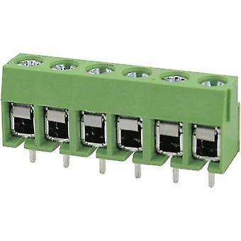 Degson DG126-5.0-03P-14-00AH Screw terminal 2 mm² Number of pins 3 Green 1 pc(s)