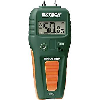 Extech MO50 Moisture meter Building moisture reading range 1.5 up to 33 vol% Wood moisture reading range 5 up to 50 vol%