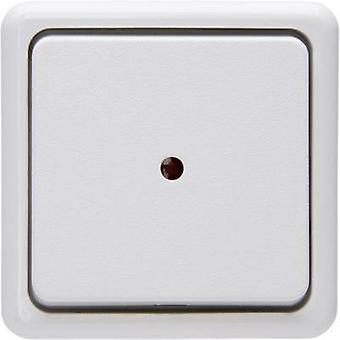 Kopp Control switch, tuimelschakelaar, Circuit breaker standaard oppervlak-mount arctische wit 514602006