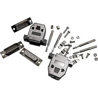 BKL sähköisen 10122006 D-SUB liitin 180 ° nastojen määrä: 9 juotos 1 PCs()