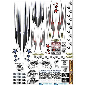 Carson Modellsport 500907085 1:14 HGV trim strips 1 pc(s)