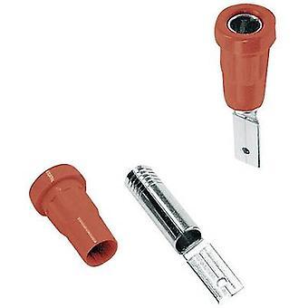 Stäubli EB4-B Jack socket pistorasia, pystysuora pystysuora sokan halkaisija: 4 mm punainen 1 PCs()