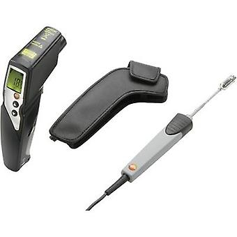 testo 830 T4 Set IR thermometer Display (thermometer) 30:1 -30 up to +400 °C Contact measurement