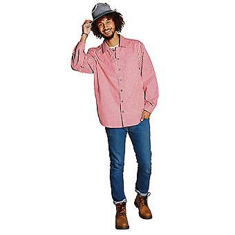 Kostuum shirt rood gemarkeerde shirt YODEL Oktoberfest kostuum voor mannen