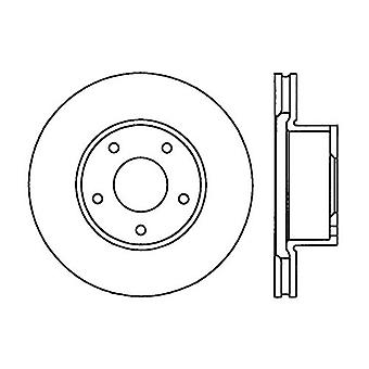 StopTech 127.62089L Sport Drilled/Slotted Brake Rotor (Front Left), 1 Pack