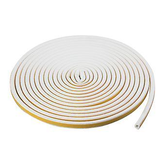 TRIXES 5M blanco ventana sello proyecto excluyendo auto-adhesivo tira D en forma de aislamiento