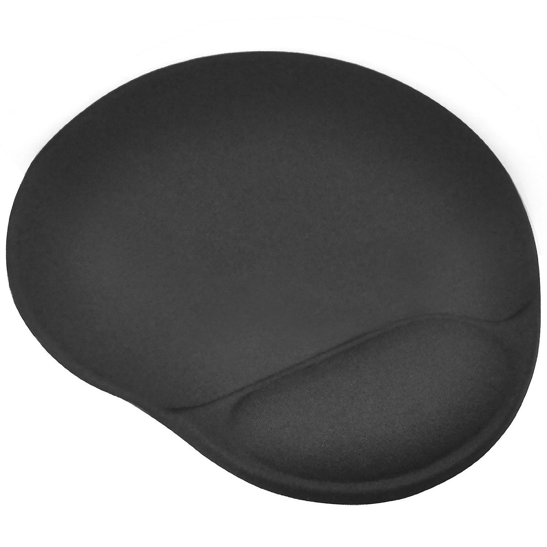 TRIXES svart mus Pad/matta Stora med komfort kudde stöd