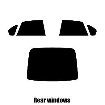 Pre cut window tint - Subaru Legacy 4-door Saloon - 2000 to 2004 - Rear windows