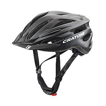 CRATONI PACER sykkel hjelm / / matt svart