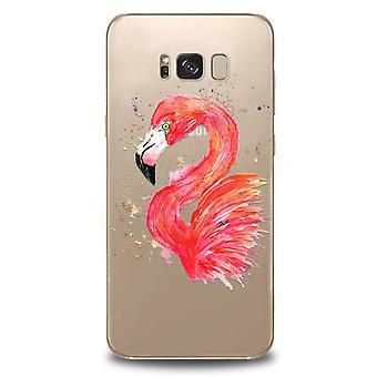 Flamingo case for Samsung Galaxy S8!